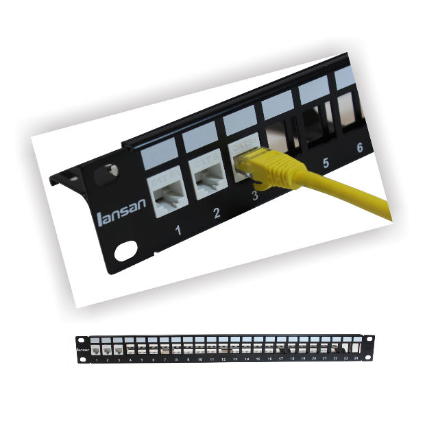 PATCH PANEL Un-Shield Blank Patch Panel 620x640